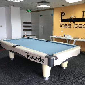 Billiards Đức Tình lắp đặt bàn bida 9017 Tonardo