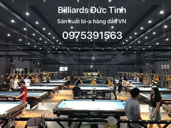 Vì sao khách hàng luôn ưu tiên lựa chọn bàn bi a tại Billiards Đức Tình?