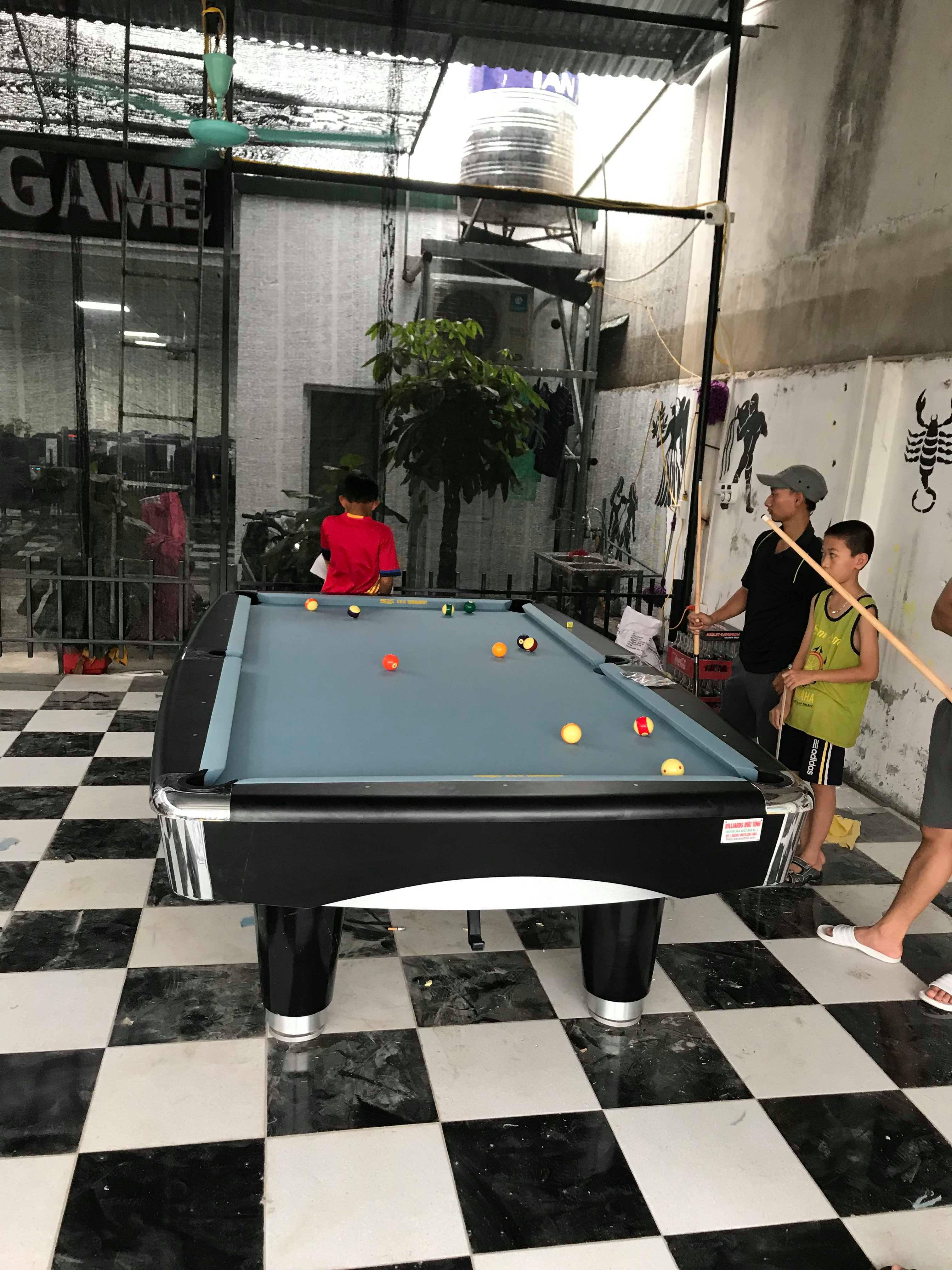 Biliards Đức Tình Lắp đặt bàn Tonardo 9017 tại quán game VIP – Vĩnh Quỳnh – Thanh Trì -Hà Nội