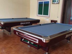 Lắp đặt bàn bida 9019 BrunSwick hoàn toàn miễn phí