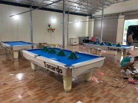 Billiards Đức Tình bàn giao 4 bàn 9020 Tonardo tại Phù Đổng – Gia Lâm – Hà Nội
